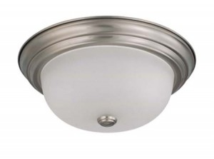 Flush Mount Dome - Brushed Nickel
